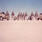 Eight Men Strong and True – Desert operations in North Africa.